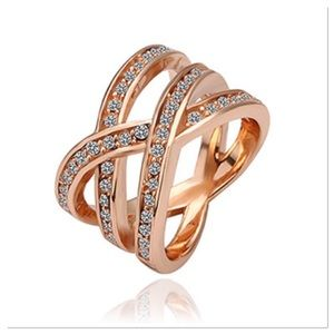 Rose Gold Infinite Matrix Ring