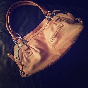 b. makowsky Handbags - B. Makowsky handbag in natural brown leather