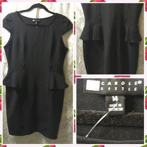 Carole Little Dresses & Skirts - Peplum Dress Sz 14