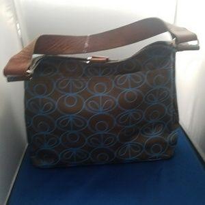 Orla Kiely Handbags - ORLA KIELY flower oval hobo/shoulder bag