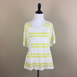 NEW Anthropologie Postmark Hitched Stripe Tee