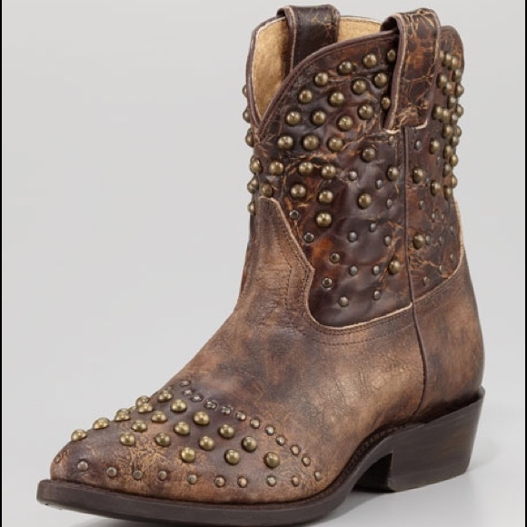ba84fd37134 Frye Shoes - Frye Billy Studded Short Cowboy Boots