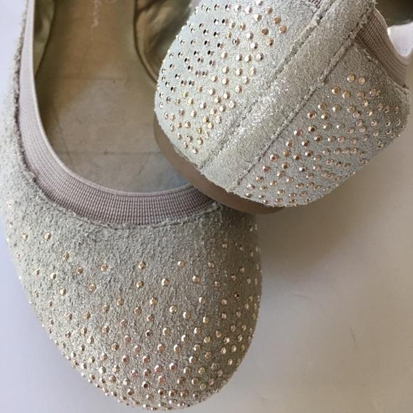 jessica simpson sparkle ballet flats