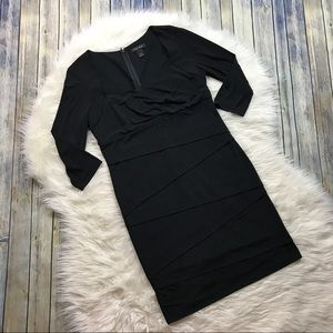 White House Black Market Dresses - White House Black Market Black Sheath Dress