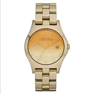Marc By Marc Jacobs Henry Gold Tone Sunday Watch