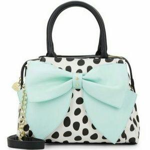 Betsey Johnson Handbags - NWT Betsey Johnson Ready Set Bow Tote Satchel