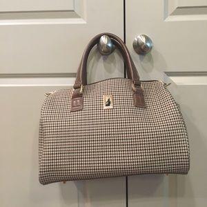 London fog houndstooth handbag