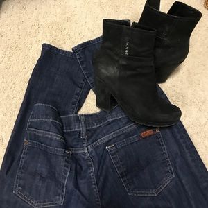 7 For All Mankind jeans true denim wash