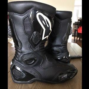 Alpinestars Shoes - Alpinestars S-MX 5 Motorcycle Boots