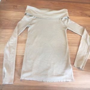 Gold Ralph Lauren top