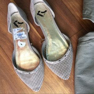 Report Collection Shoes - report shoes toupe pointy flats 8.5