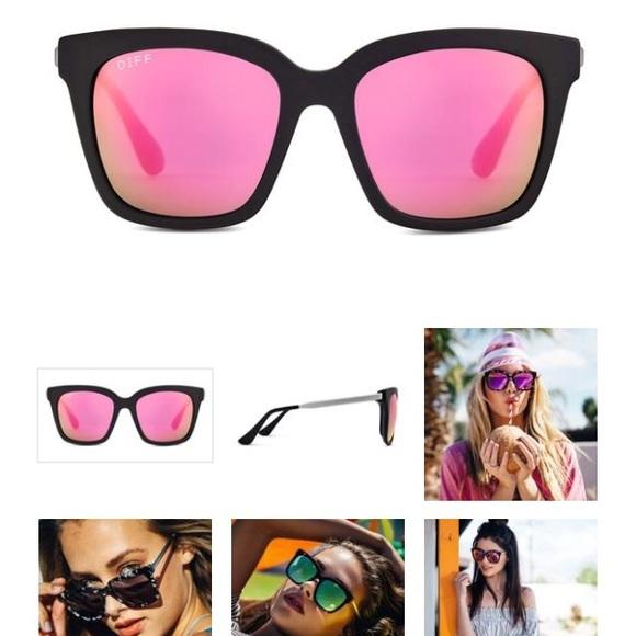 59 Off Diff Eyewear Accessories Diff Bella Matte Black