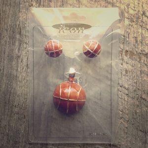 ICON Jewelry - New Basketball Jewelry Set