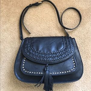 Antik Kraft Handbags - Large Crossbody Saddle Bag