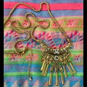 "Jewelry - Gold & Glitter 30"" Bohemian Necklace 🔶🔶🔶NEW"