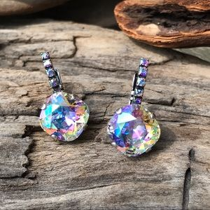 Jewelry - Handcrafted earrings with Swarovski crystal #210