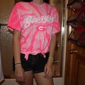 3.1 Phillip Lim for Target Tops - ⭐  Offers Welcome ⭐UGA Pink Tie Dye Crop T-shirt