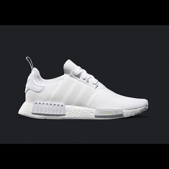 Adidas NMD Triple White Sneakers - LIMITED EDITION 40ef2df49