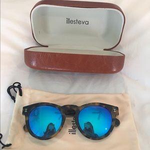 Illesteva Accessories - Blue reflection illesteva sunglasses