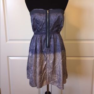 Free People Ombré Strapless Dress