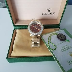 100%high quality luxury brand men's watch