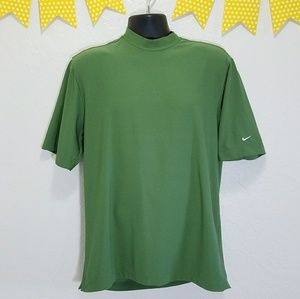 Nike Other - Nike Golf UV Protection Green Turtle Neck Shirt D8
