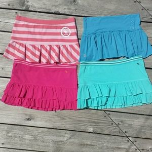 $$ 4 FOR 1 PRICE $$ ABERCROMBIE GIRLS  SKIRTS