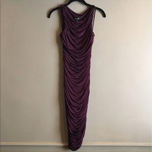 Bebe Slinky Cocktail Dress