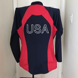 Mizuno Tops - 💰SALE🔥USA BeachVolleyball Mizuno  jacket XL