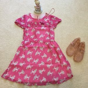 Mini Boden Other - Mini boden Poodle pink dress 5-6Y