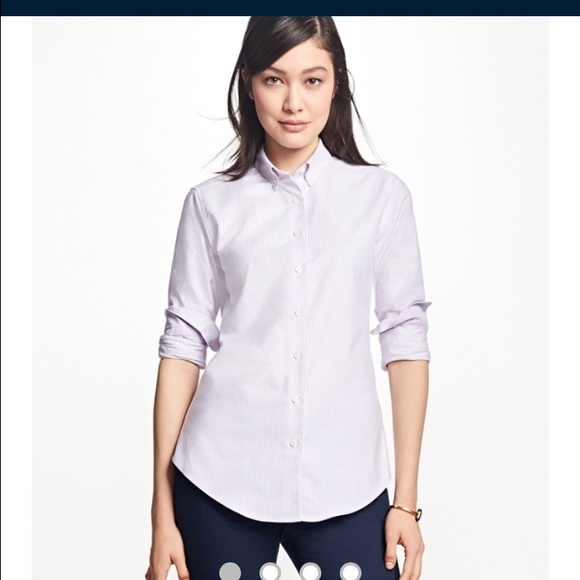 82 off brooks brothers tops brooks brothers supima for Brooks brothers garland shirt factory