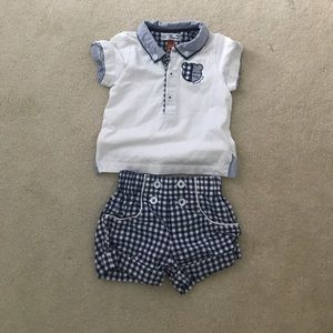 Mayoral Other - Baby boy 2-4 mo top and shorts