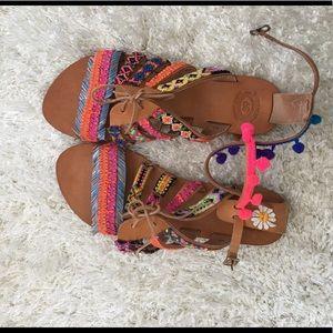 Elina Linardaki Shoes - Elina Linardaki hula hoop sandals