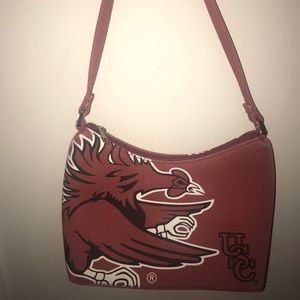 Handbags - South Carolina Gamecocks purse/tote, garnet