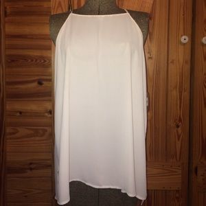 American Threads Tops - NWT Off White Camisole