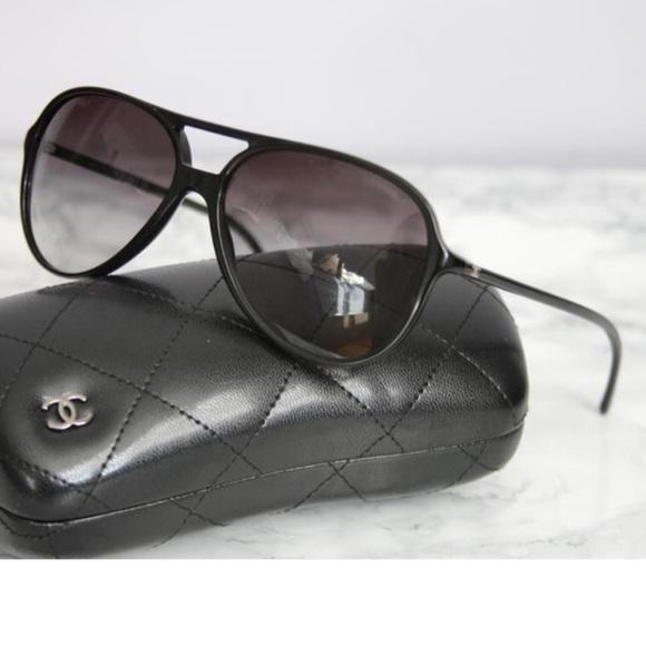2d4d27d4372 CHANEL Accessories - Authentic Chanel aviator Sunglasses