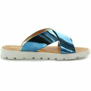 LAST 1 🌞 SALE 🔴 Blue Metallic Sandals