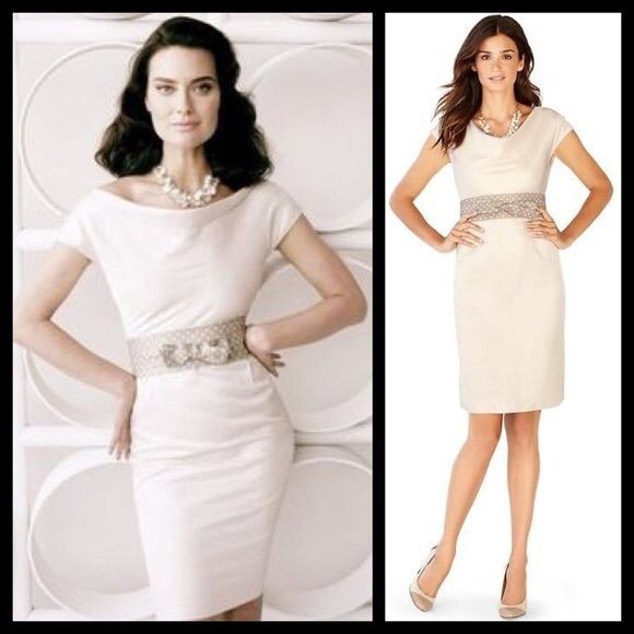 White Mad Men Dress