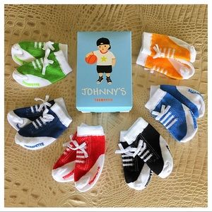"Trumpette Other - Trumpette's ""Johnny"" Socks Gift Set for Baby Boy"