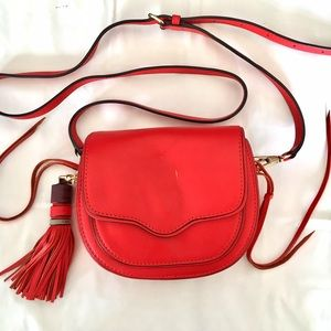 LAST CHANCE REBECCA MINKOFF Sydney Red Leather