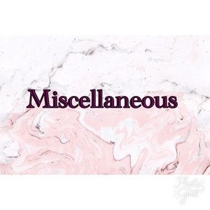 Other - Miscellaneous items