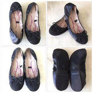 Sam & Libby Shoes - Sam & Libby Rhinestone Flats