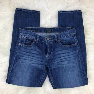 Lucky Brand Blue Sienna Weekender Crop Jeans
