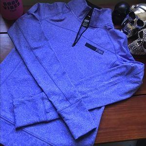 Purple PINK half zip, size XS, NWOT