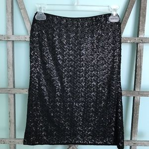 CAbi Sequin Tube Top/Skirt
