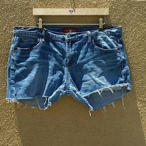 Lucky Brand Pants - LUCKY BRAND DENIM DISTRESSED SHORTS SIZE 14 32