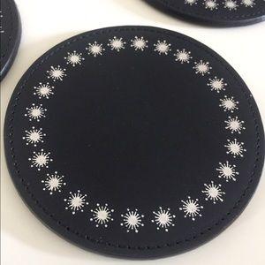 GiGi New York Other - GiGi New York Coasters Black set of 4