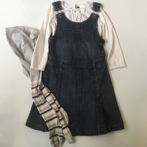 Ikks Other - Ikks Jumper, T Shirt and Tights Set Size 3