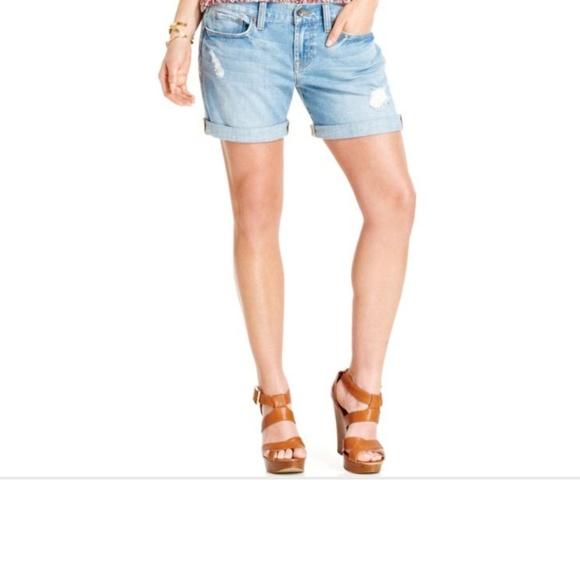 "Lucky Brand Pants - LUCKY BRAND Distressed ""Laguna"" Short"