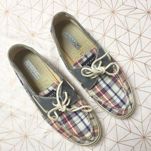 Sperry Shoes - Plaid American Sperry's